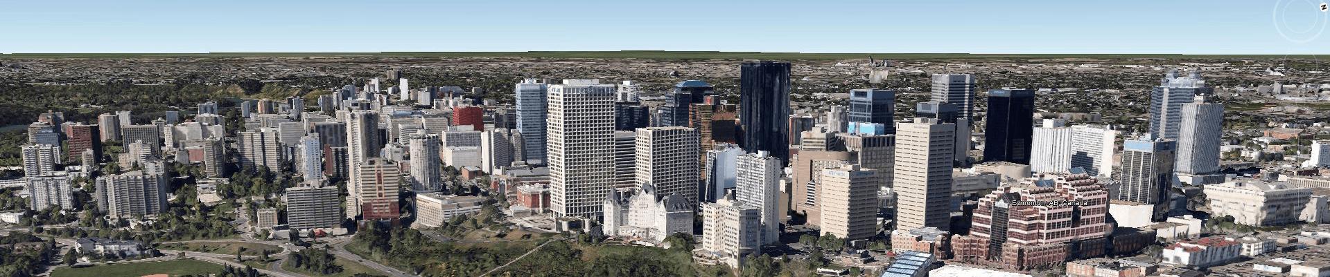 Edmonton-Google-Earth