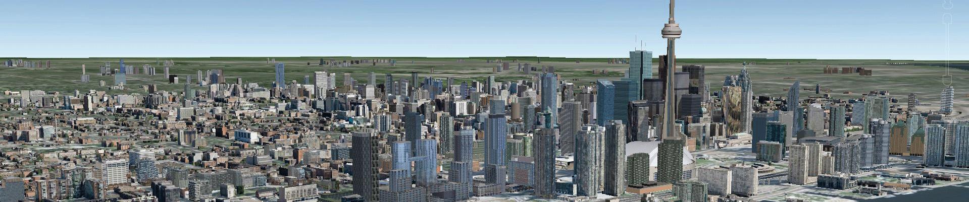 Toronto-Google-Earth